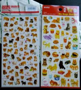 Shiba seals/stickers